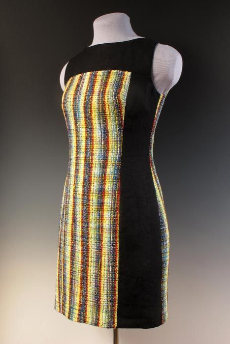 Vibration Dress - with handwoven