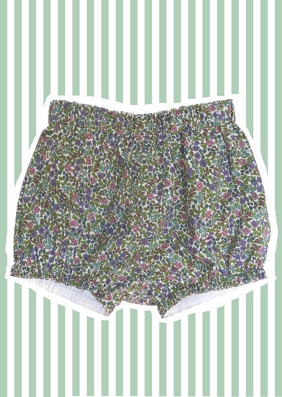Liberty Print Mini Bloomers/ Diaper Covers for by tinkerandbelle, £23.00