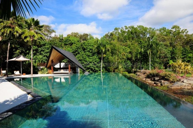Inspired by the tropical pavilion style living of South East Asia, amalè is an exclusively gated estate in Port Douglas featuring private villas available for holiday rental.  http://www.executiveretreats.com.au/