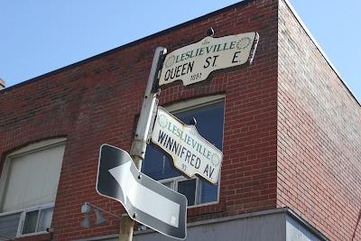 Leslieville in Toronto