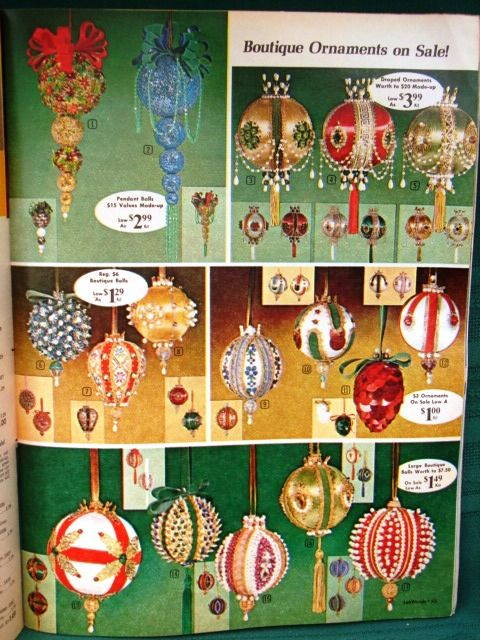 185 best Vintage sequined ornaments kits images on Pinterest
