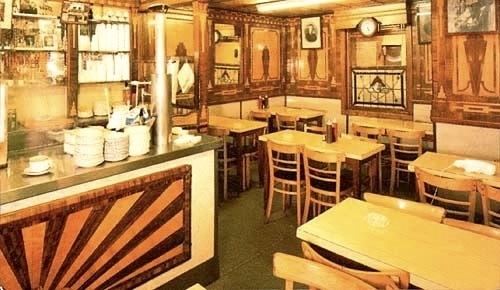 Old school cafes..   Pellicci's Bethnal Green London