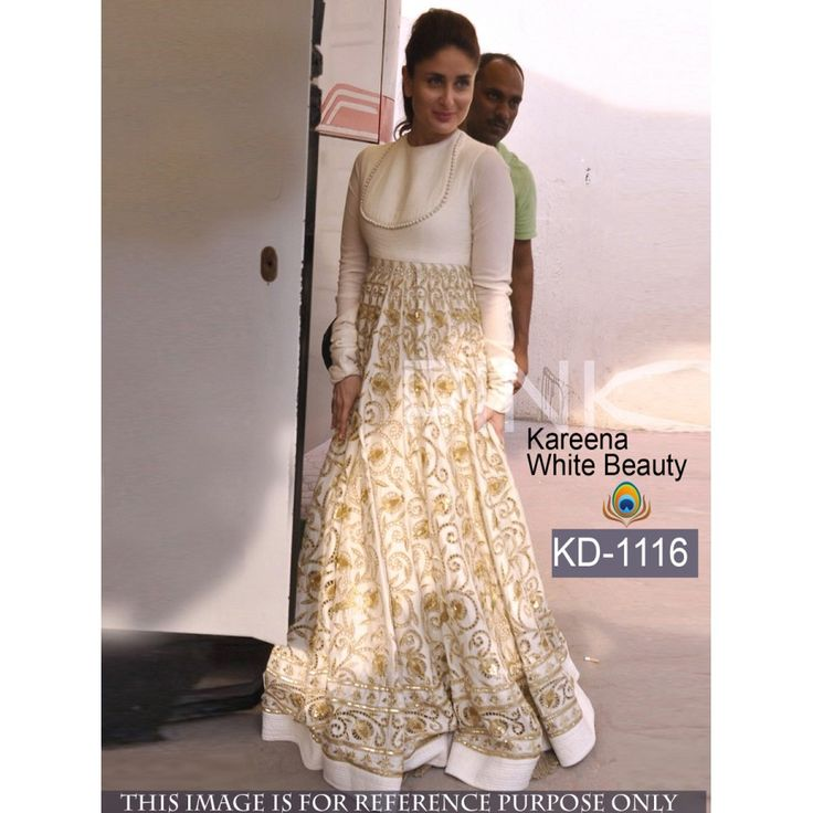 kareena kapoor Astounding Anarkali Style Banglori Silk Semi-Stitched Gown at just Rs.3350/- on www.vendorvilla.com. Cash on Delivery, Easy Returns, Lowest Price.