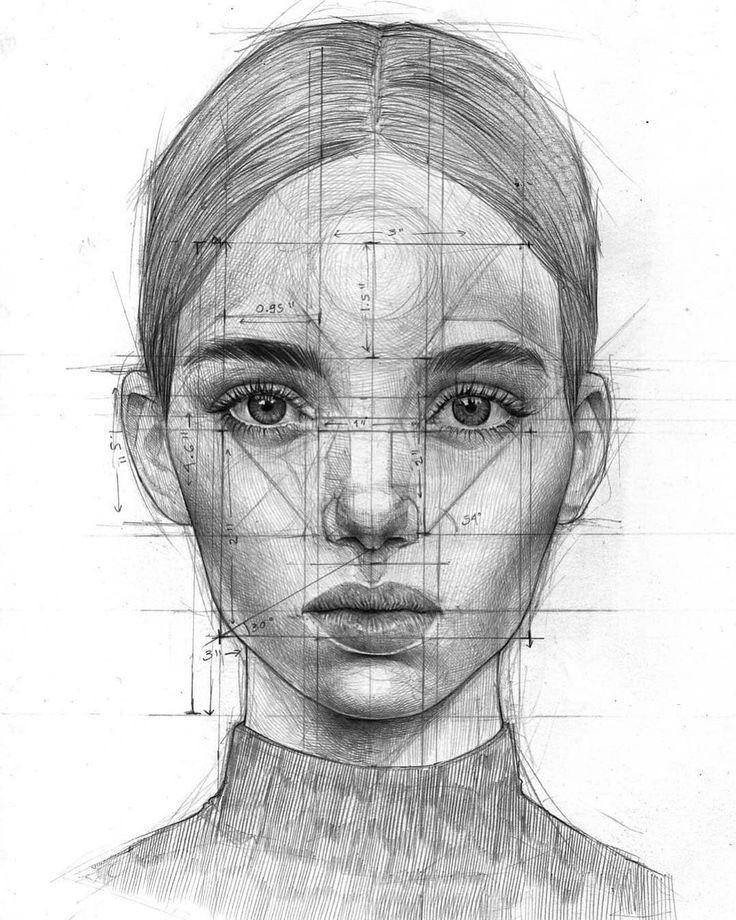 схема лица человека мелочь