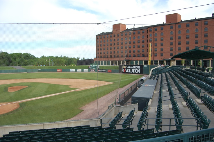 little league replica of Camden Yards in Aberdeen, Maryland