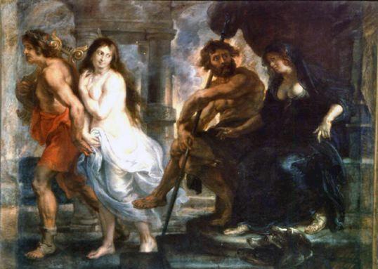 루벤스 [오르페우스와 에우리디케] in 프라도미술관