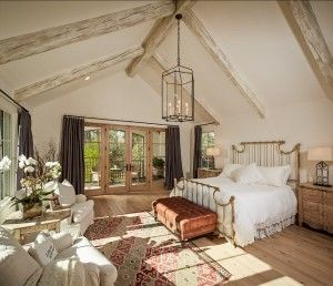 French Bedroom. French Inspired Bedroom. #French #Bedroom