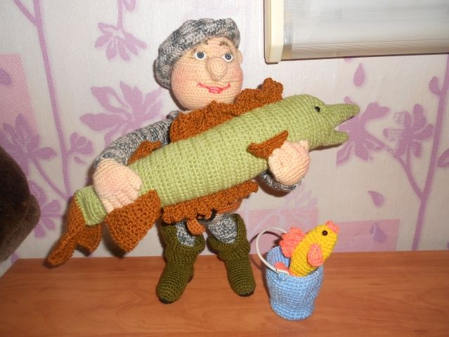 Правдивый рыбак крючком