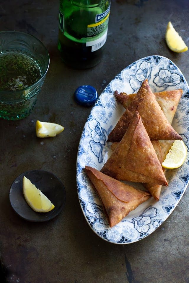 Spicy Minced Meat Samosas