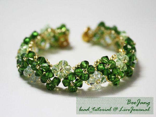 Free bead_tutorial: Crystal Bracelet #19