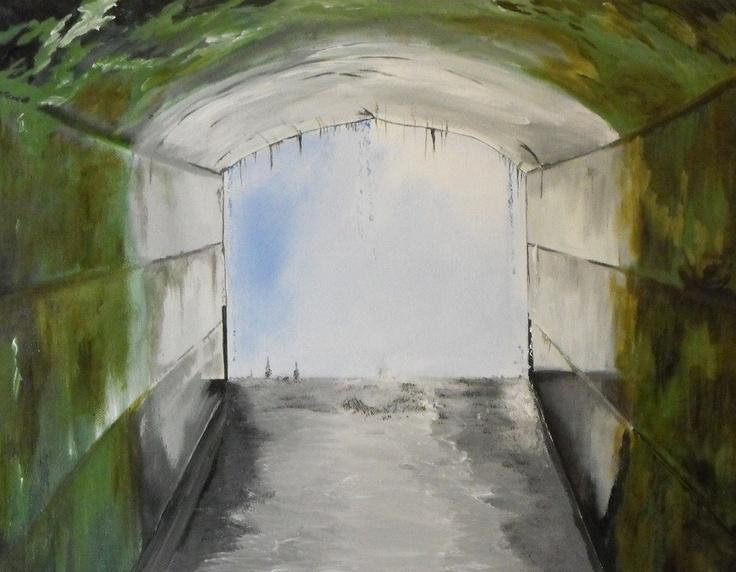 Tunnel under Niagara Falls