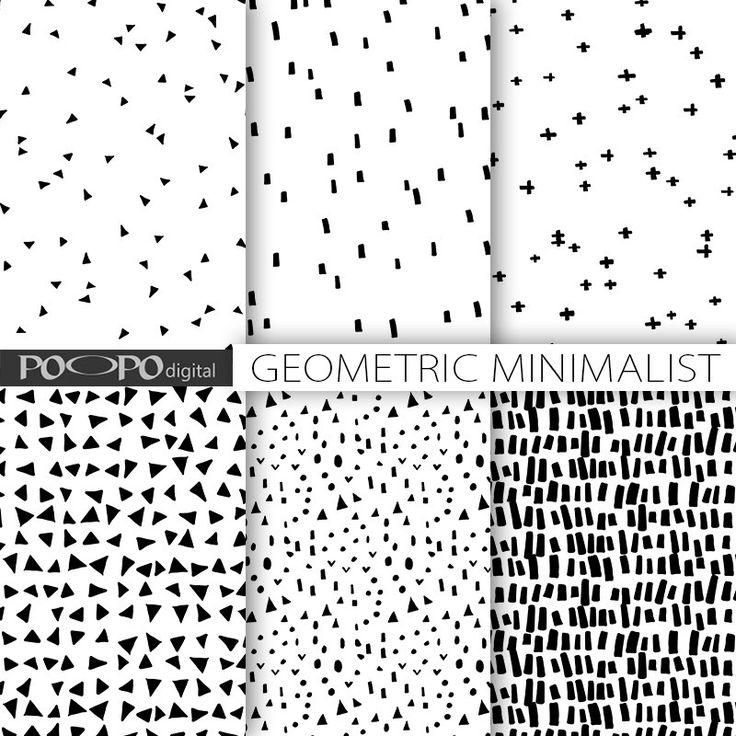 Minimalistische digitalem Papier primitiven handgezeichnete Geomrtric minimal Scrapbooking Papier Gekritzel schwarz weiß scribble-Muster minimalistischer Geometrie von POandPOdigital auf Etsy https://www.etsy.com/de/listing/222686636/minimalistische-digitalem-papier