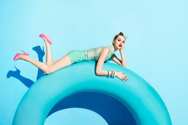Love Aldo shoes!: Terryrichardson, Editorial, Color, Blue, Summer, Aldo, Fashion Photography, Terry Richardson