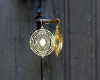 Universe-earrings by Milanka Design