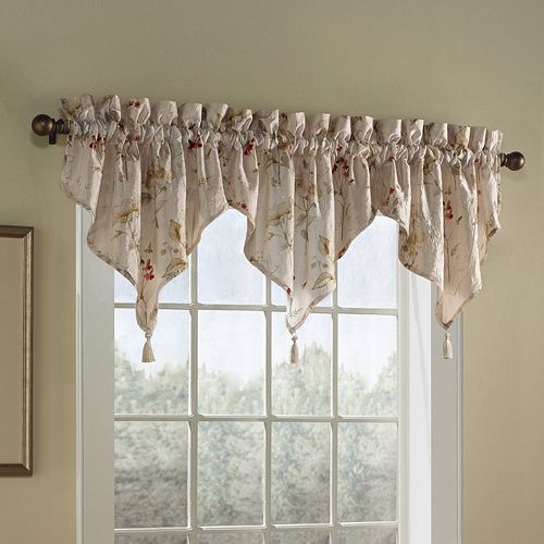 United Curtain Co. Chantelle Ascot Valance - 48'' x 16''