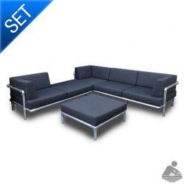 Water Pipe Sofa / Bench / Cosette Steigerbuis Sofa Set