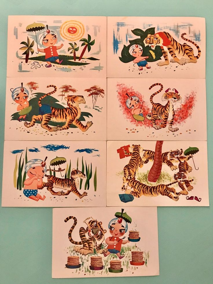 Vintage 1970s Sambos Restaurant Post Cards Set of 7