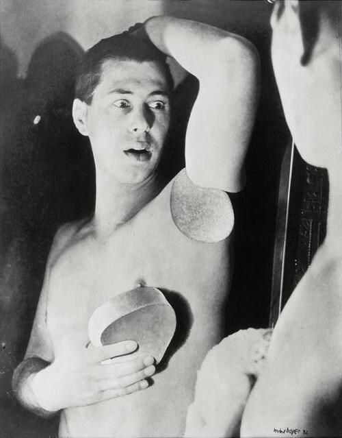 ヘルベルト・バイヤー『オートポートレート(フォトモンタージュ)』 (1932) Herbert Bayer -  Autoportrait, (Photomontage) #シュールレアリスム