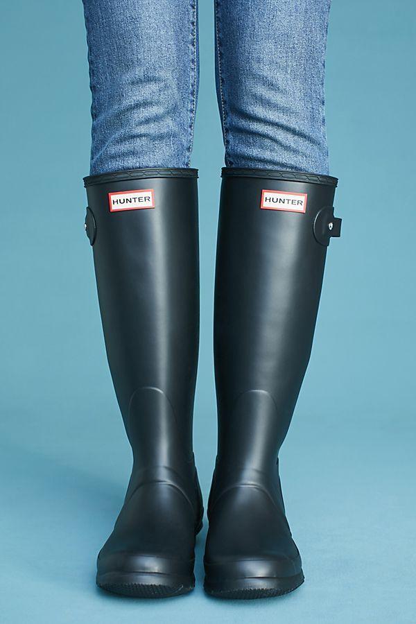Hunter Boots Original Tall Rain Boots Hunter Boots Boots