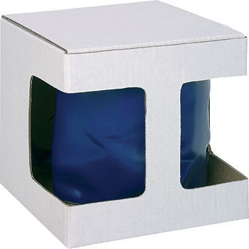КОРОБОЧКА E Картонная белая коробочка для кружки «ТОРОС», «ДОМИНГО».           Максимальный размер печати: 50 x 30 мм.           Максимальный размер печати: 50 x 30 мм.           Максимальный размер печати: 30 x 20 мм.