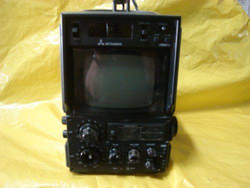 tv portatil 5  p/b mitsubishi mod- 0580k 120v e 12v - japan.