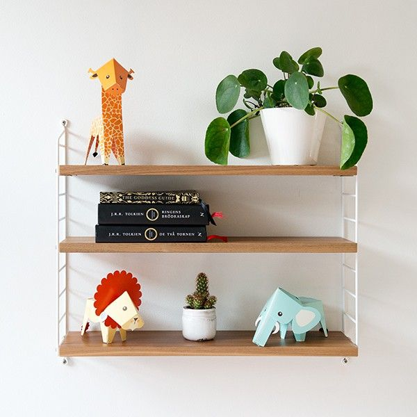 Papermals - The Africa set paper animals DIY by Scandinavian designer Emma Eklund - Nordic Design Collective
