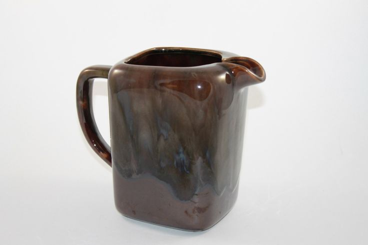 Beauceware Canadian Vintage Pottery Jug https://www.etsy.com/ca/listing/489359332/beauceware-canadian-pottery-brown-jug