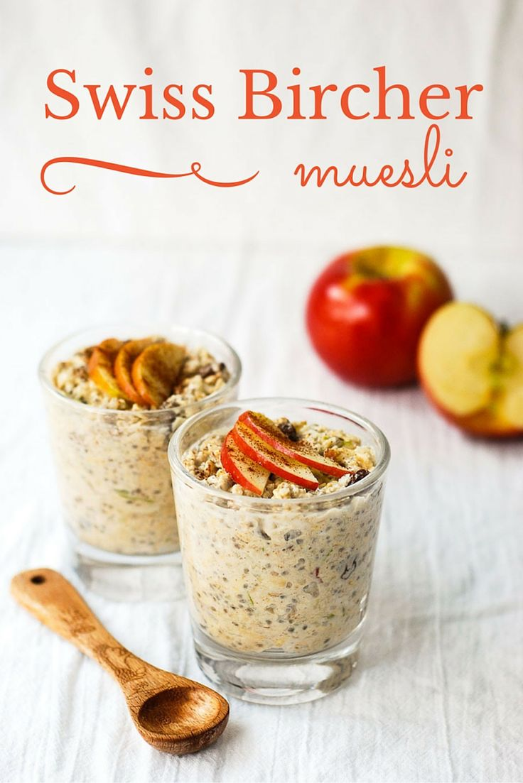 Swiss bircher muesli