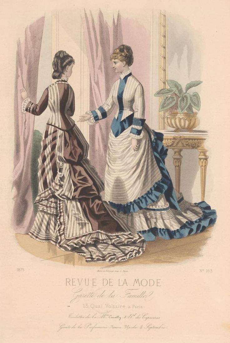 revue de la mode 1875 fashion plate pinterest. Black Bedroom Furniture Sets. Home Design Ideas
