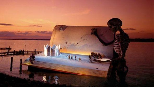 Bregenz, Austria - Opera on the Water