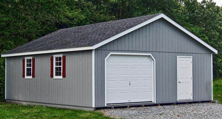 Best 25 prefab garages ideas on pinterest prefab garage for Prefab 2 car garage with loft