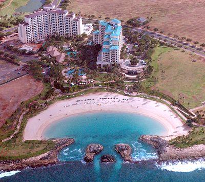 Mariott Ko Olina in Honolulu, Hawaii. So beautiful and relaxing!