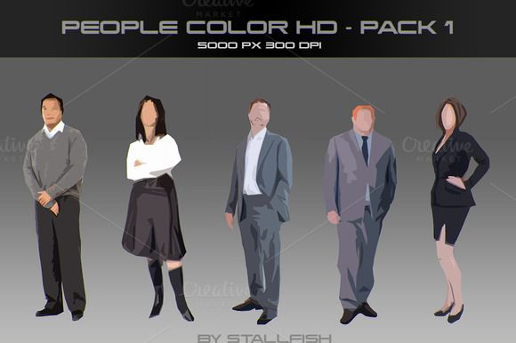 People HD color pack 01 by stallfish's art store on @creativemarket
