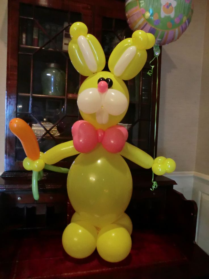 282 best images about Balloon Easter Decorations on Pinterest