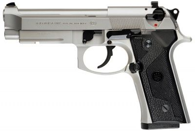 beretta 92.  nice gun to shoot. - http://www.rgrips.com/en/article/61-benelli-m1-part-3