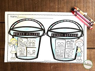 Free How Full Is Your Bucket sort.  A great follow up sort after reading the story.