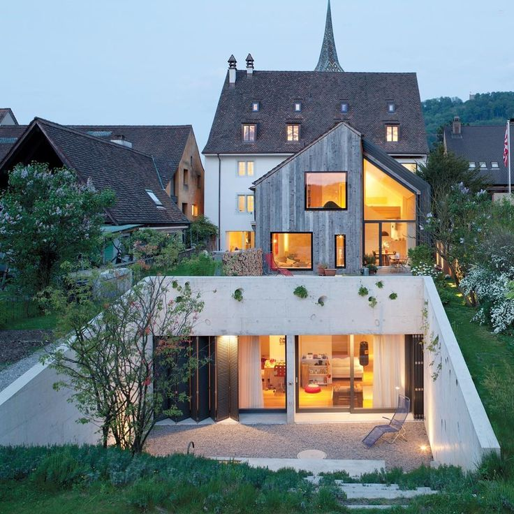 In a dream-come-true renovation, Oppenheim Architecture & Design transformed a historic five-story farmhouse in Muttenz, Switzerland into two separate-entry apartments and office space for its staff of 15. : Børje Miller. #architecture #interiors #design #interiordesign #farmhouse #switzerland @oppenoffice... - Interior Design Ideas, Interior Decor and Designs, Home Design Inspiration, Room Design Ideas, Interior Decorating, Furniture And Accessories