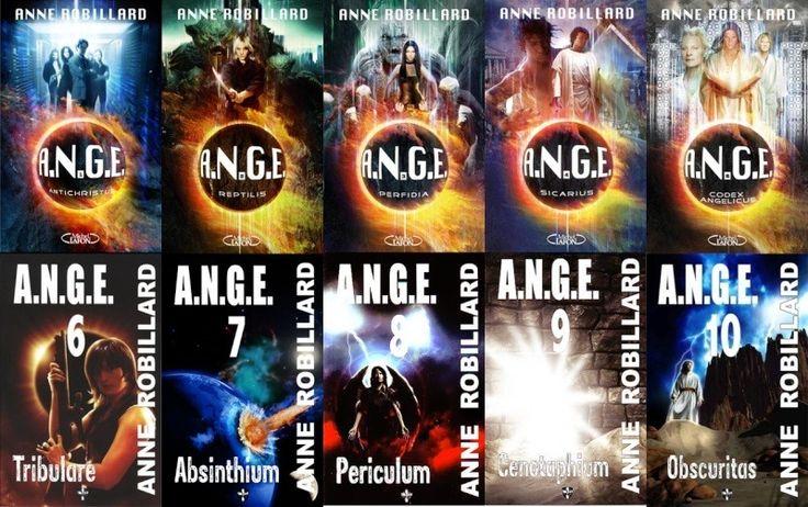 Lue - Série A.N.G.E. Par Anne Robillard