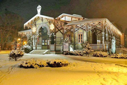 Ciechocinek - also pretty during winter. Photo by ciechocinek.pl