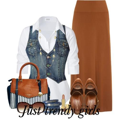 Denim casual outfits for women  http://www.justtrendygirls.com/denim-casual-outfits-for-women/