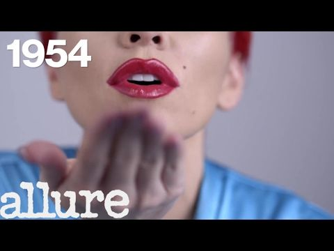 Makeup artist Kandee Johnson models popular lip trends over the past 100 years, from Marilyn Monroe's red lip to Kylie Jenner's plump pout. Still haven't sub...