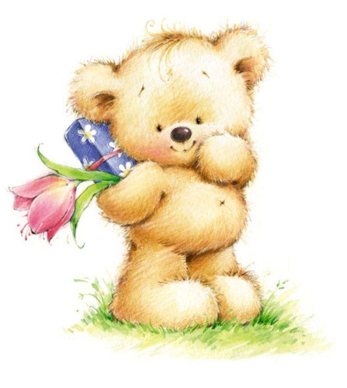 Медвежата с открытки