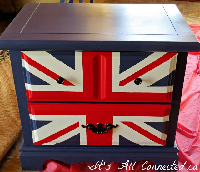 Its All Connected: Union Jack Side Table | Furniture ...