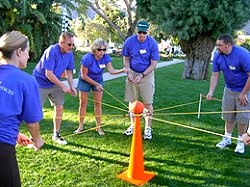 17 best images about outbound team building on pinterest - Team building swimming pool games ...