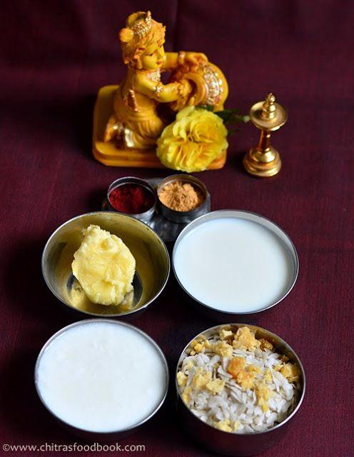 How to celebrate Krishna Janmashtami/Gokulashtami at home with links for neivedyam recipes