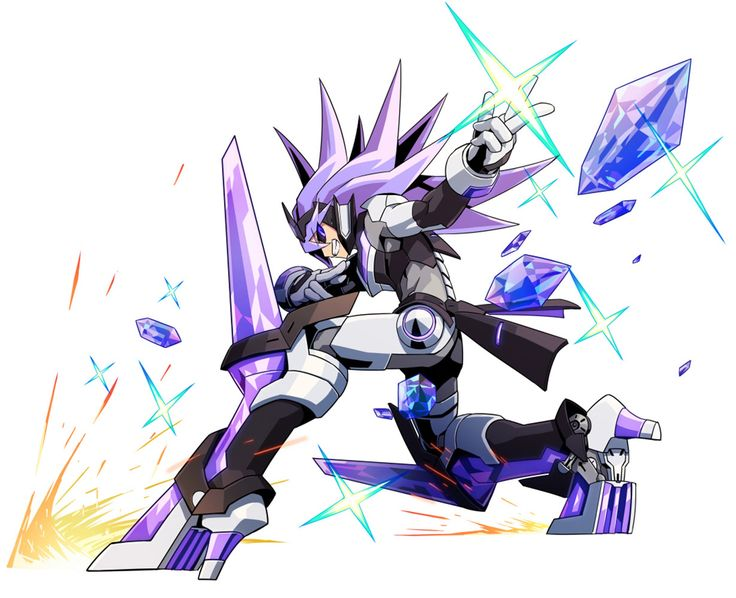 Ghauri Powered Up from Azure Striker Gunvolt 2