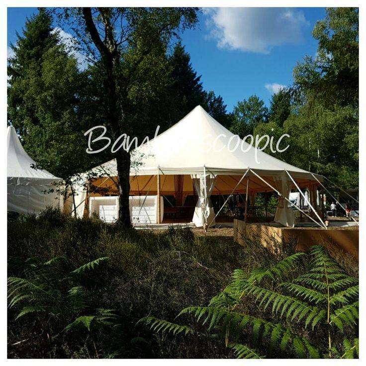 Chapiteau bambou mariage. Égaré dans une forêt de Sologne, le Chapi-Ovale impose son élégance dans cette verdoyante nature. Bambouscoopic des chapiteaux à mature bambou, fabriquée dans nos ateliers.