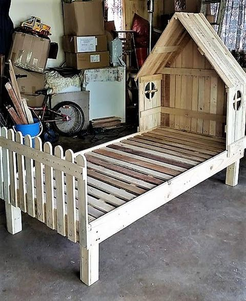 40 Ecofriendly Diy Pallet Ideas For Home Decor More: 10+ Ideas About Wooden Pallet Beds On Pinterest