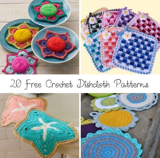Unique Free Kitchen Crochet Patterns Motif Easy Scarf Knitting
