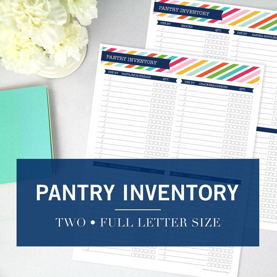 The 25+ best Pantry inventory printable ideas on Pinterest - inventory list
